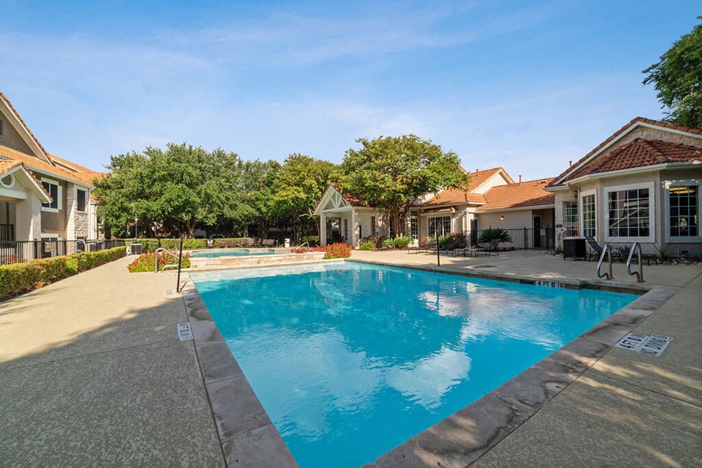 Pool With Sunning Deck at Madison at Wells Branch, Austin, 78727