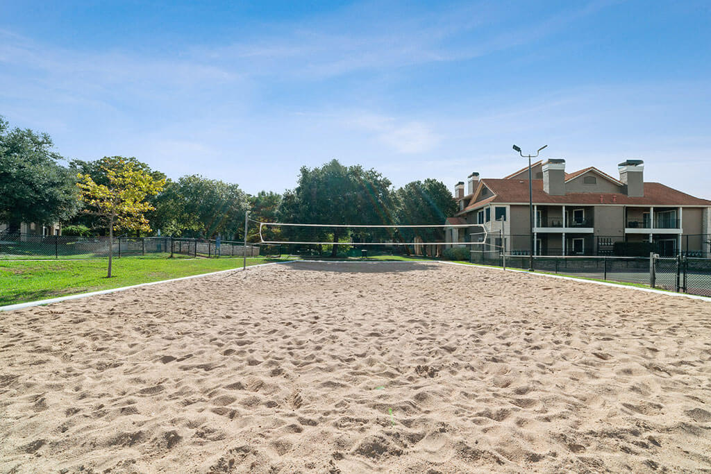 Sand Volleyball Court at Madison at Wells Branch, Austin