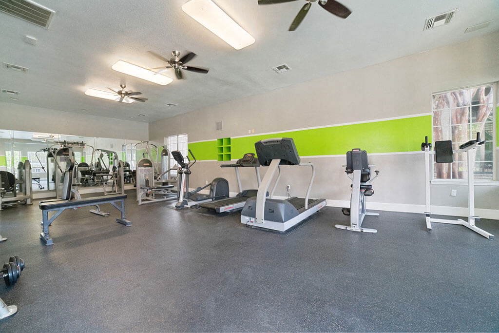 Free Weights And Cardio Equipment at Madison at Wells Branch, Austin, Texas