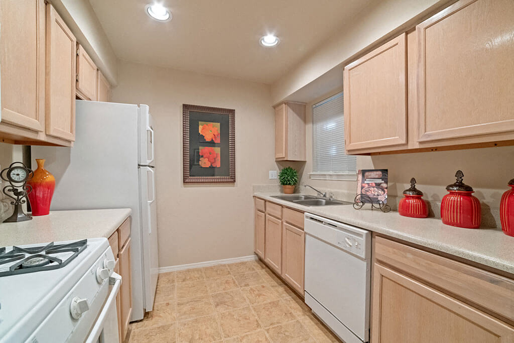Spacious Full Size Kitchen at Madison at Wells Branch, Austin