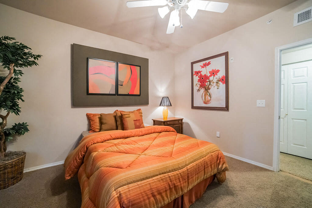 Well Decorated Bedroom at Madison at Wells Branch, Austin, 78727