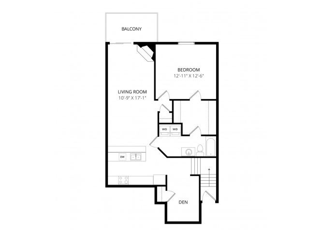 0 for the Edinburgh w/den floor plan.