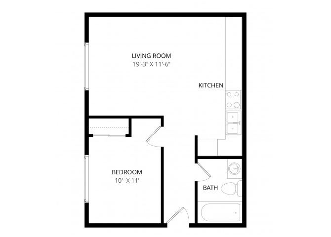 0 for the 1x1 floor plan.