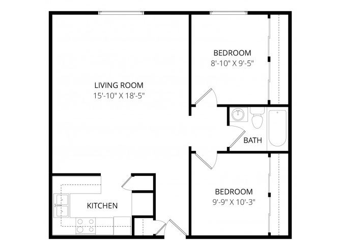 0 for the 2x1 floor plan.