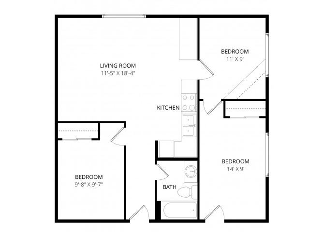 0 for the 3x1 floor plan.