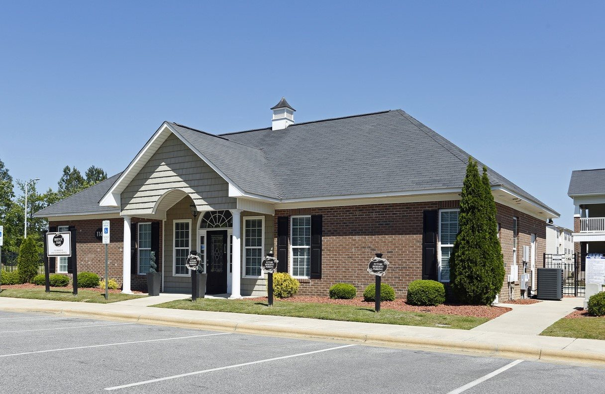 Community Clubhouse and Leasing Center at Bristol Park Apartments - Fayetteville, NC