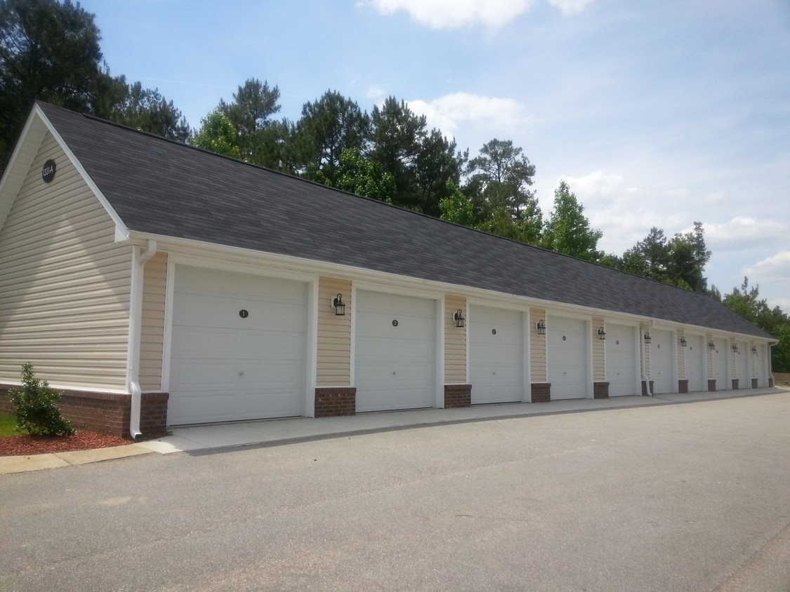 Enclosed Garages at Bristol Park Apartments - Fayetteville, NC