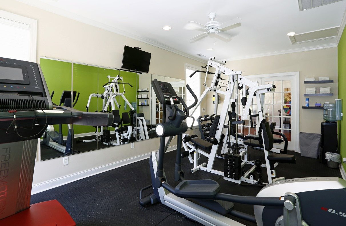 Residential Health Hub and Fitness Center at Bristol Park Apartments - Fayetteville, NC