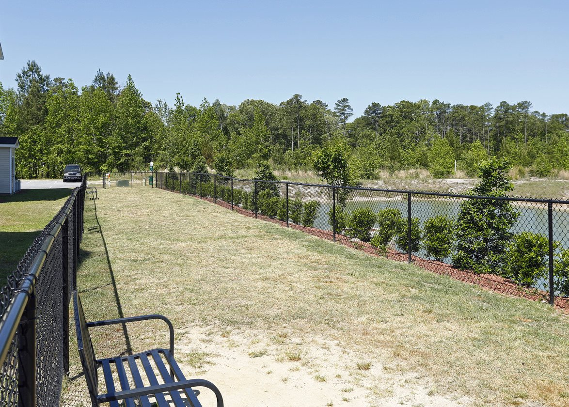 Leash Free Bark Park at Bristol Park Apartments - Fayetteville, NC
