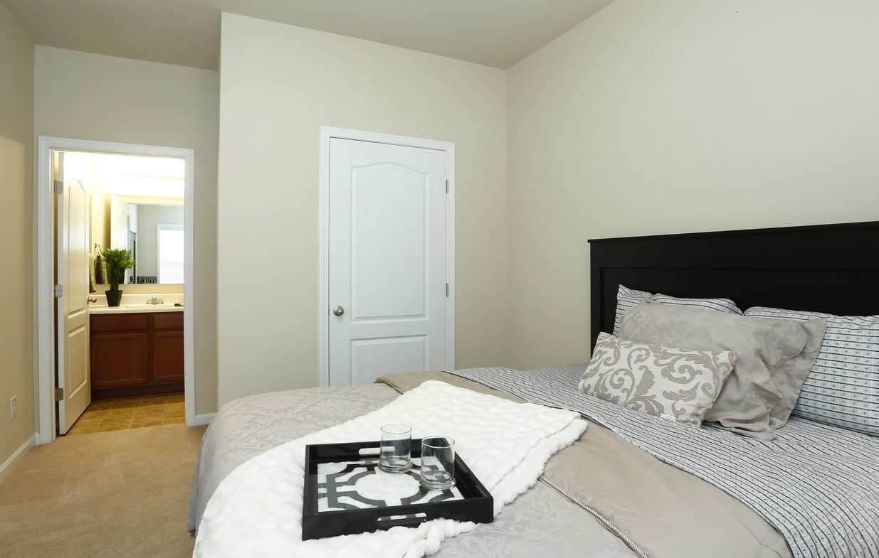 Model Floor Plan Bedroom at Bristol Park Apartments - Fayetteville, NC