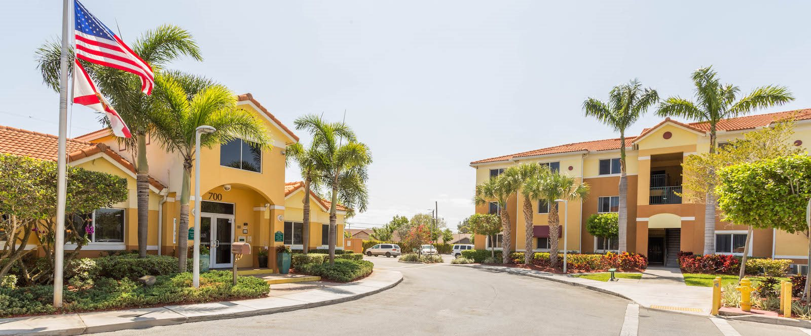 Welcome to Tallman Pines I and II apartments in deerfield beach, florida