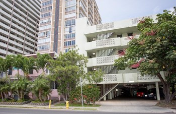 Ala Wai House-2411 Ala Wai Blvd Studio-1 Bed Apartment for Rent Photo Gallery 1
