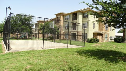Providence at Prairie Oaks Apartments| Basketball Court