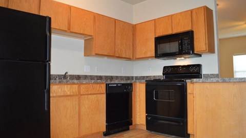 Providence at Prairie Oaks Apartments|Kitchen