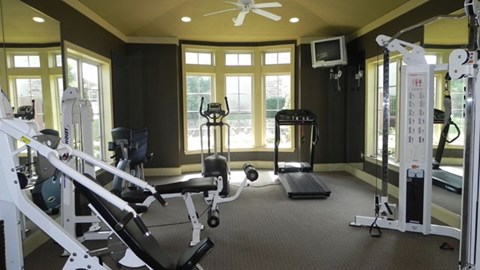 Providence at Prairie Oaks Apartments|Fitness Center