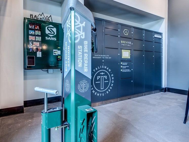 Bike Repair and Brevvie Station