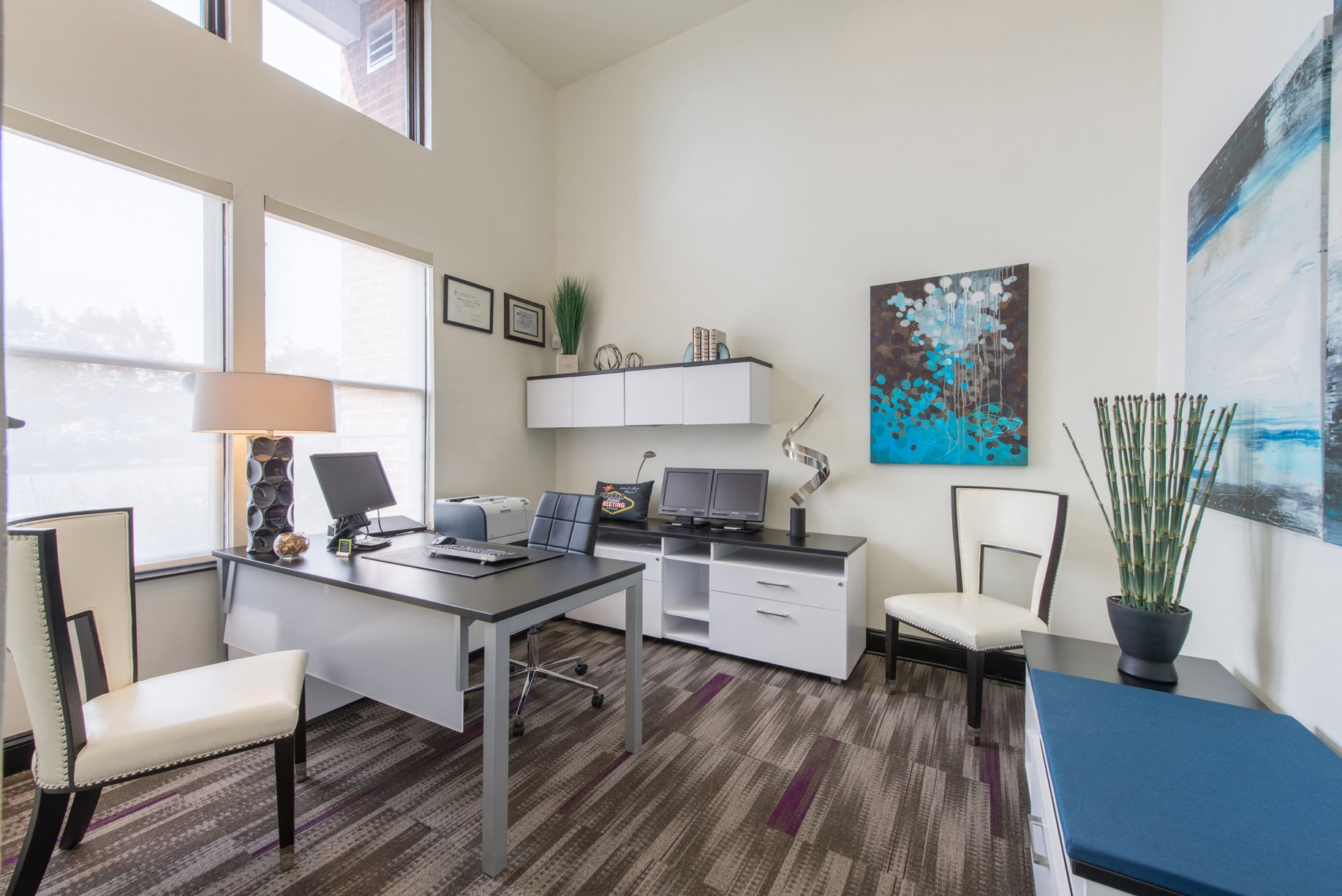 Leasing Office at The Flats at Wheaton Station in Wheaton, MD