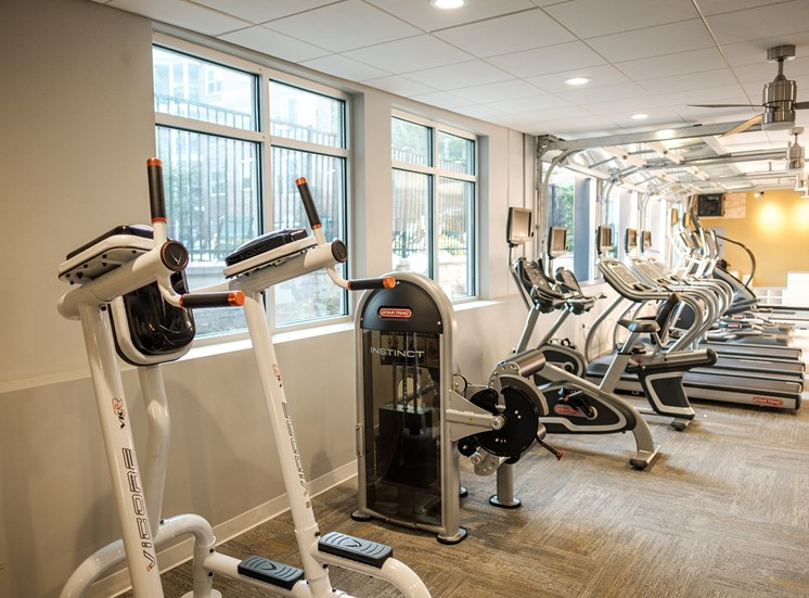 Hayes House fitness machines