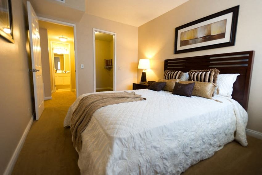 Spacious bedrooms at 55+ FountainGlen Goldenwest Senior Apartments, Westminister, CA, 92683