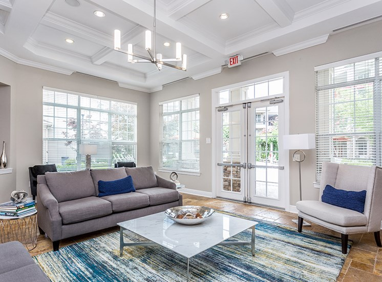 common area with seating and coffee table