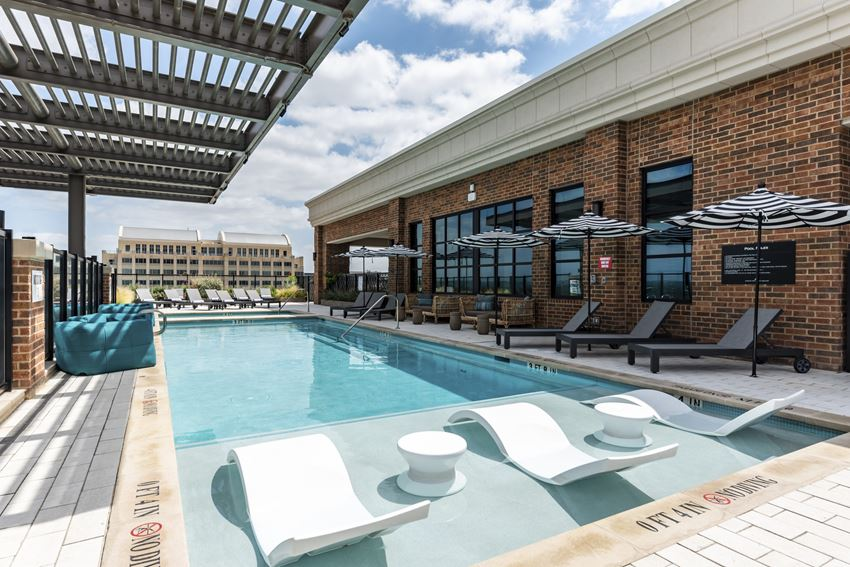Rooftop Pool Zone