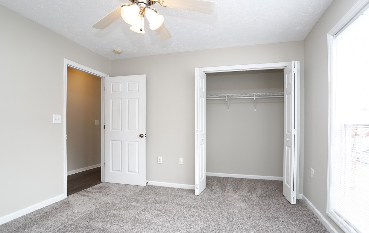 Spacious closets in your bedroom at Karen Lake