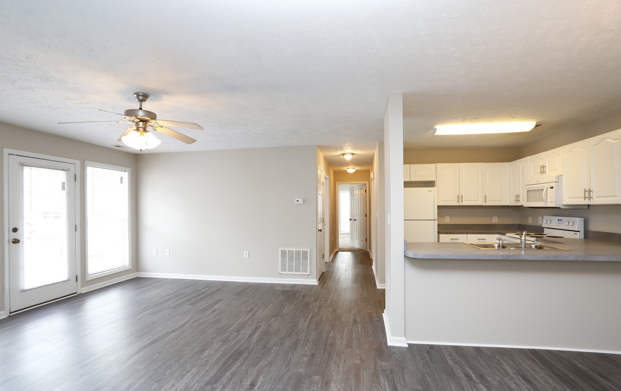 Open Concept Floor Plans at Karen Lake Apartments
