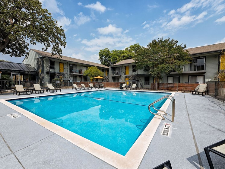 south austin apartments with a pool