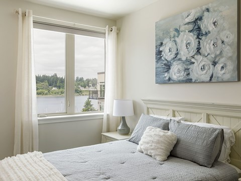 Bedroom With View at Harbor Heights, Olympia