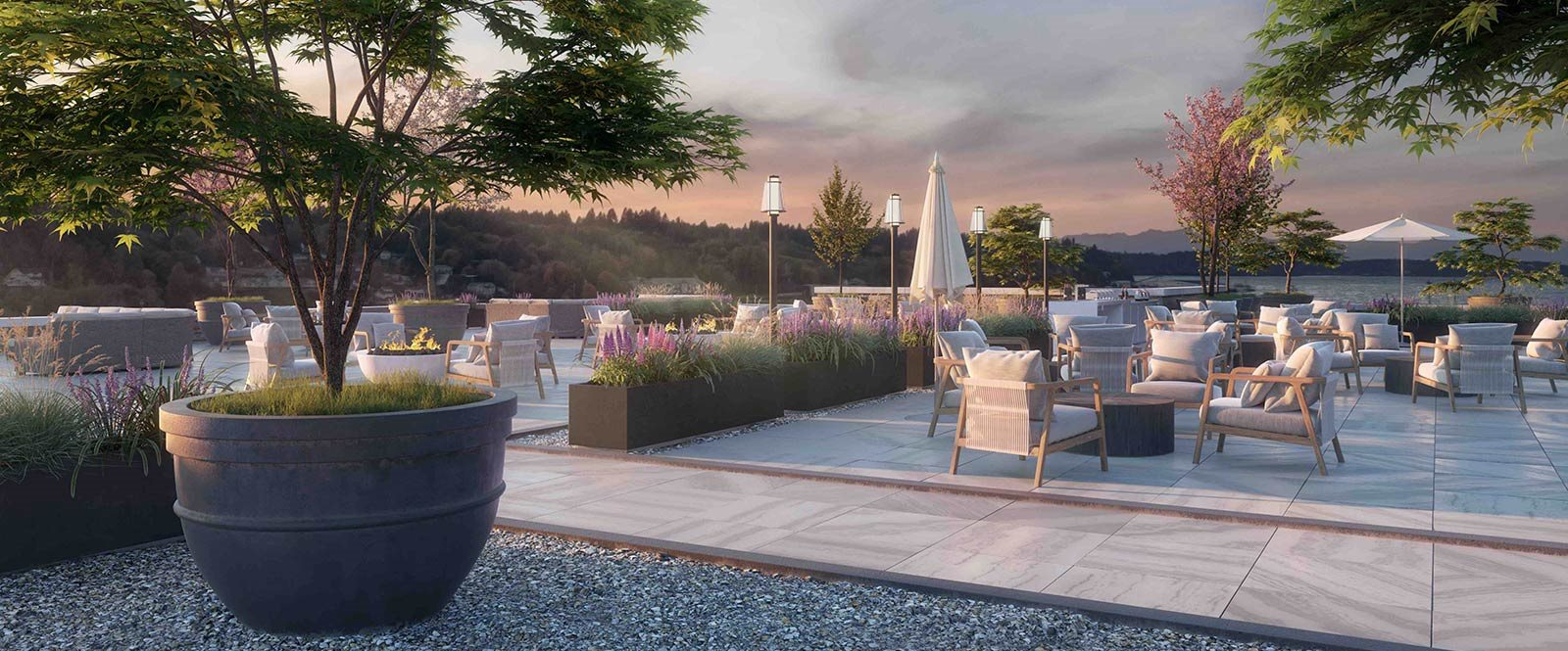 Rooftop Patio at Harbor Heights, Olympia, 98501
