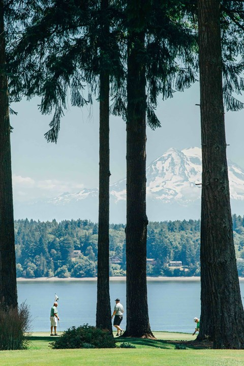 Enjoy year round golf in Olympia at Harbor Heights, Olympia, WA