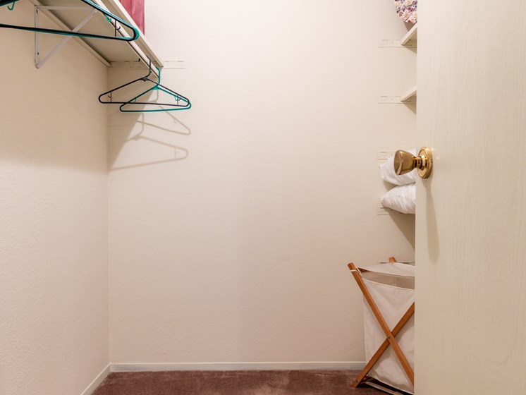 1 Bedroom closet