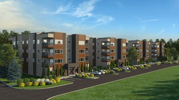 Building A - 341 Oxford Common 2 Beds Apartment for Rent Photo Gallery 1