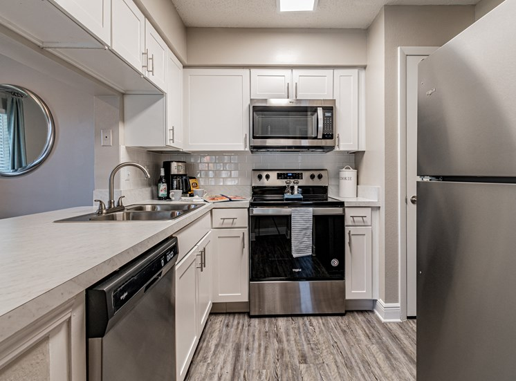 Stainless Steel Appliances at Enclave on East, Florida