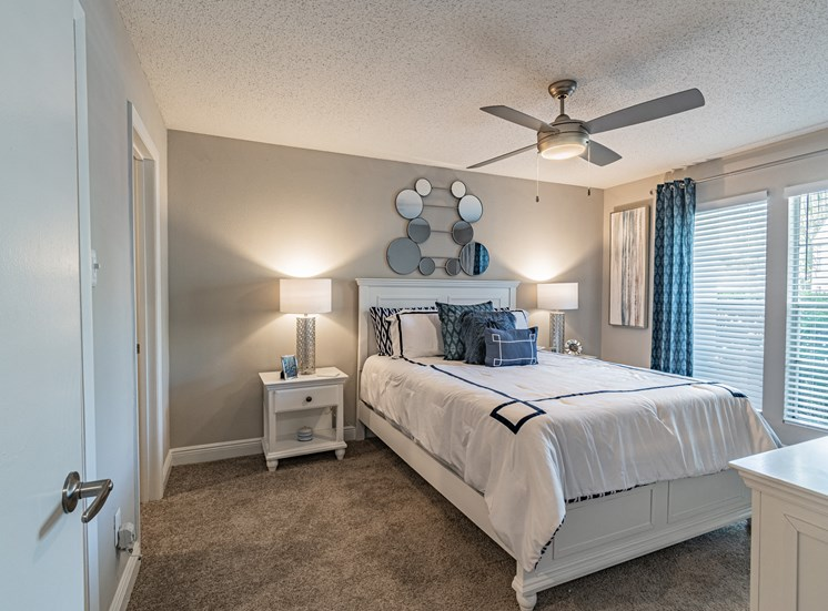 Bedroom With Expansive Windows at Enclave on East, Largo, 33771