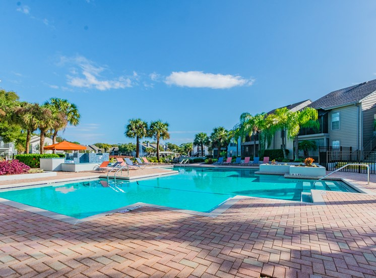 Invigorating Swimming Pool at Enclave on East, Florida, 33771