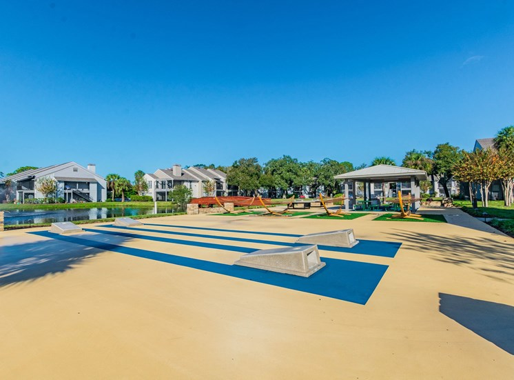 Exclusive outdoor exercise area at Enclave on East, Largo