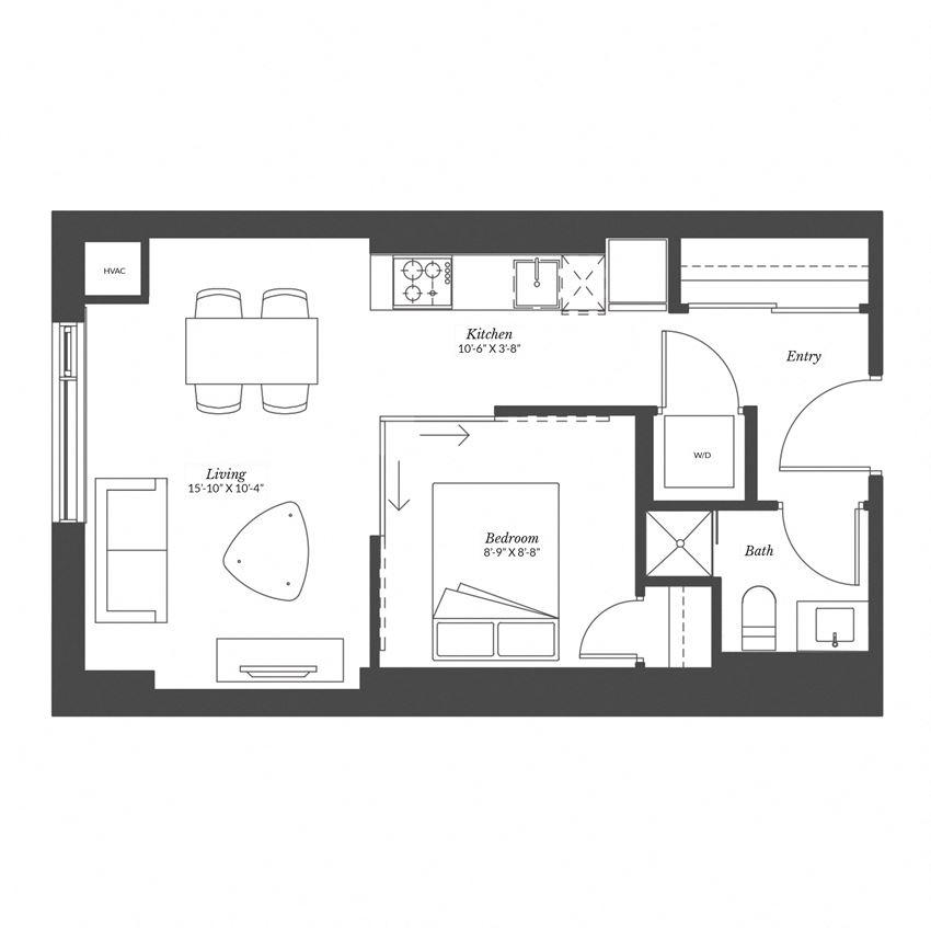 Studio - Plan 0A