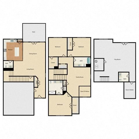 Townhome - End Unit