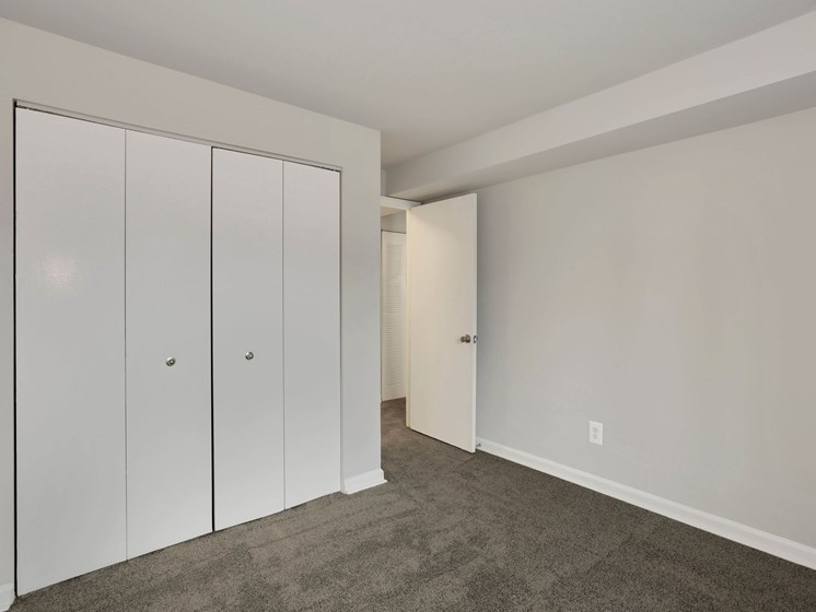 Bedroom with a large closet