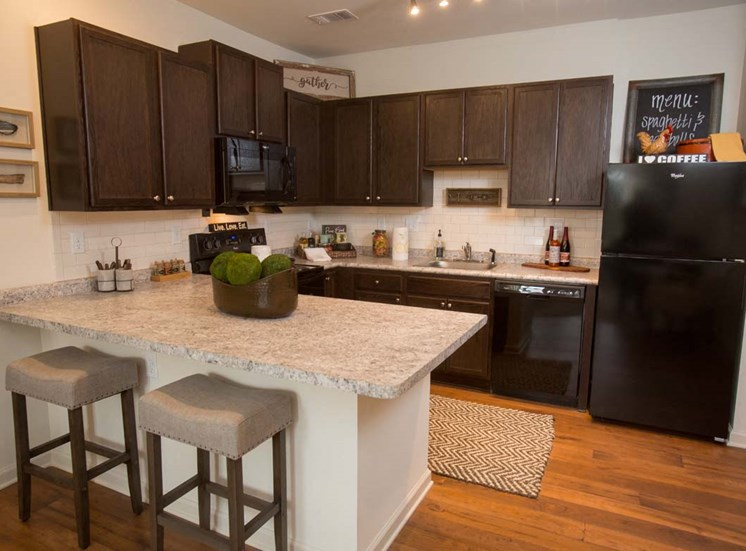 Walton Ridge Apartment Kitchen
