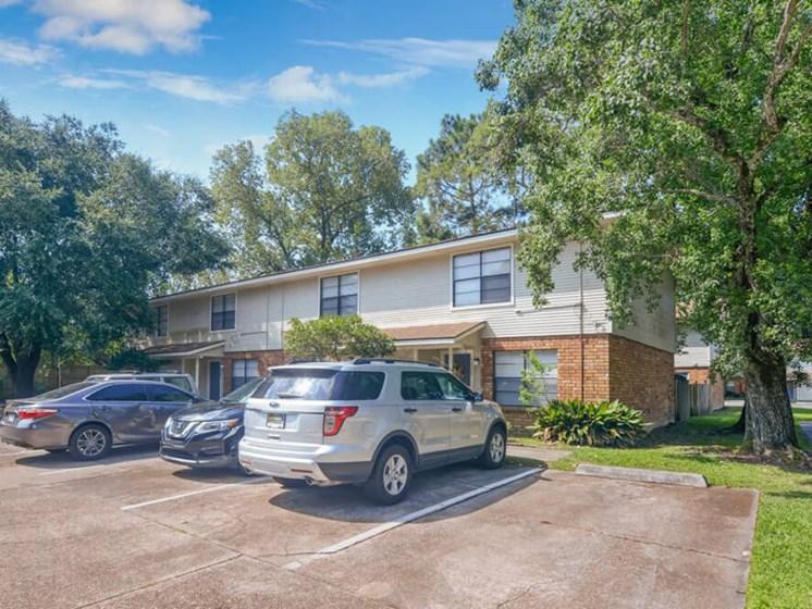community parking at Dove Creek apartments