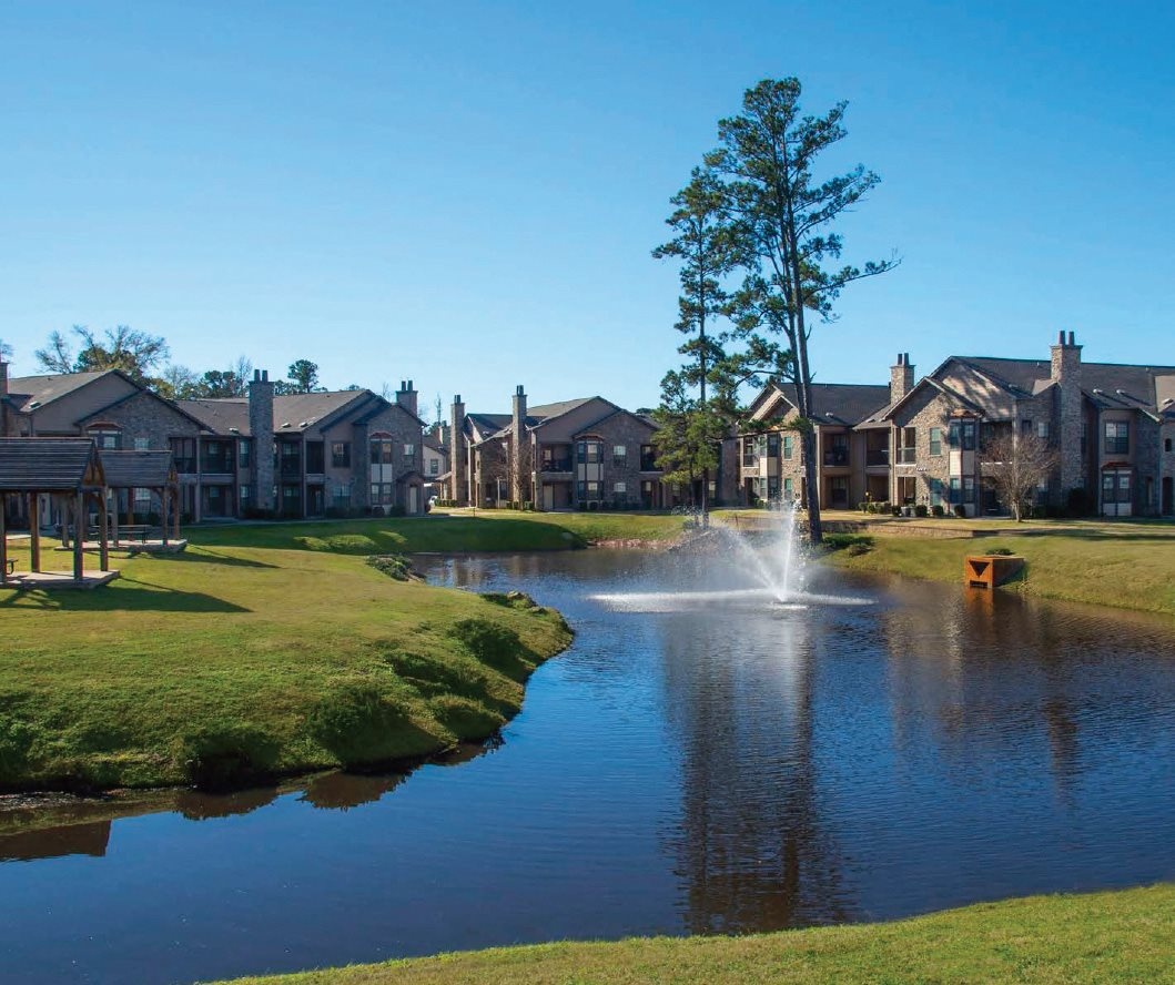 Pond at Residences at SpringRidge | Shreveport, LA