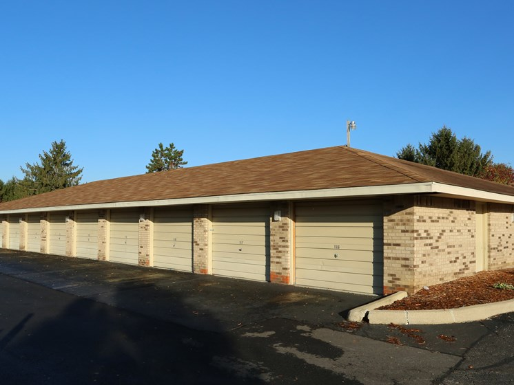 Private Garages at Ashley Village Apartments, Columbus, OH