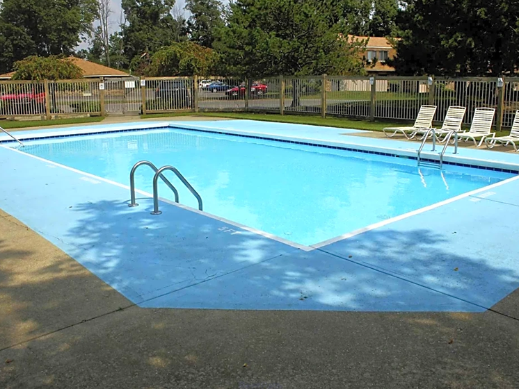 Swimming Pool With Relaxing Sundecks at Chatham Village Apartments, Columbus, OH, 48232