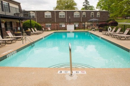 Swimming Pool With Relaxing Sundecks at Colony West Apartments, Arkansas, 72227