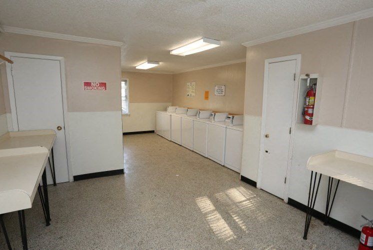 Spacious Laundry Room at Colony West Apartments, Little Rock, Arkansas