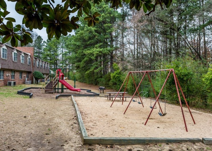 Play Structure at Colony West Apartments, Little Rock
