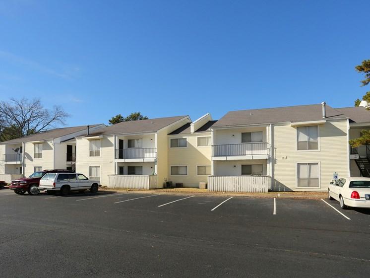 Off Street Parking Facility at Towne Oaks Apartments, Little Rock, Arkansas
