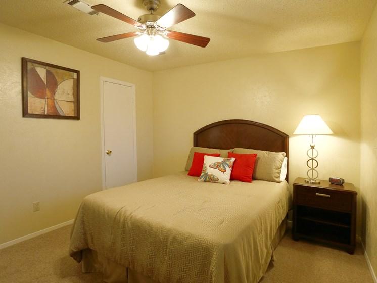 Cozy Bedroom at Towne Oaks Apartments, Arkansas